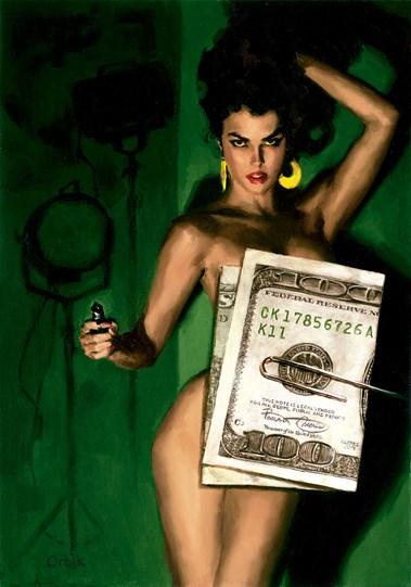 Money Shot by Glen Orbik - Limited Edition on Paper